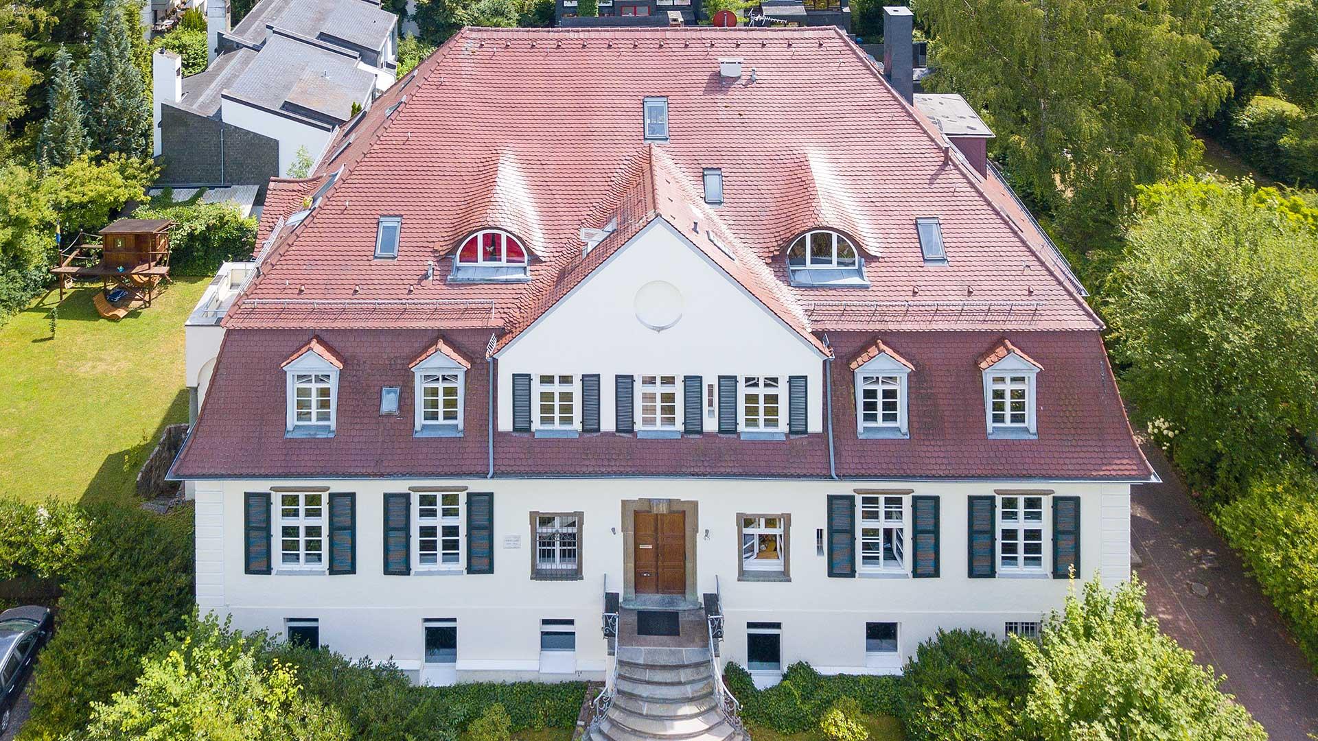 Architekturfotografie, Drohne: Villa | Foto: Dieter Eikenberg, imprints