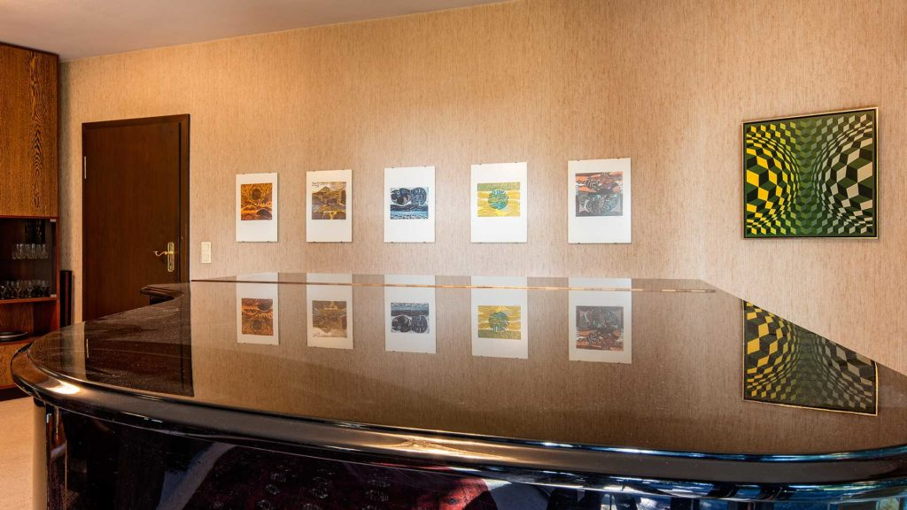 Innenarchitektur: Wohnzimmer mit Flügel | Foto: Dieter Eikenberg, imprints