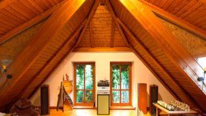 Architekturfotografie, Innenarchitektur: Dachzimmer   Foto: Dieter Eikenberg, imprints