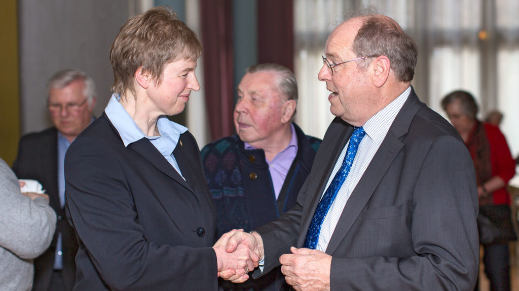 Pressefotografie: Bürgermeisterkandidatin und Politiker | Foto: Dieter Eikenberg, imprints