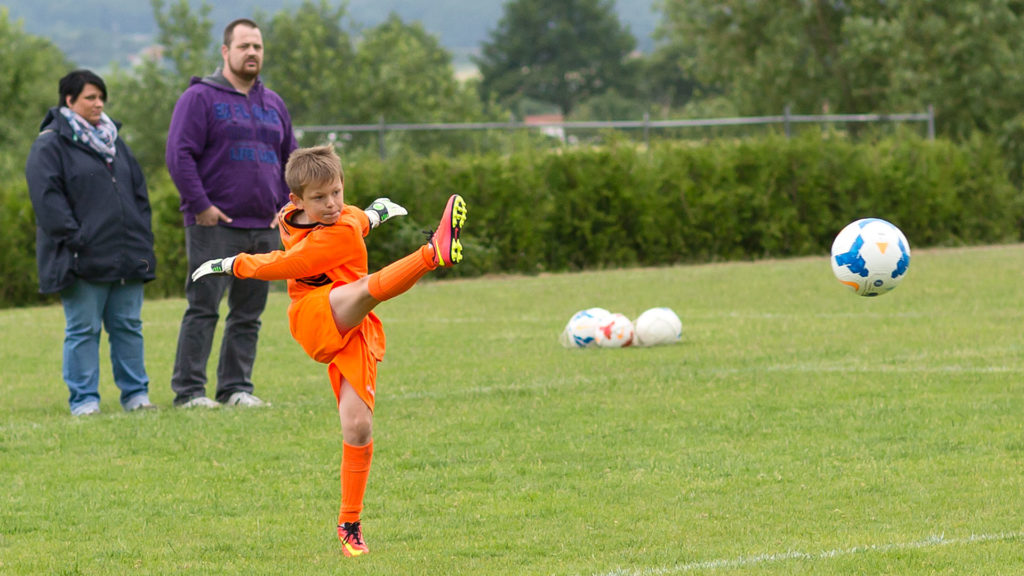 Pressefotografie, Sportfotografie: Jugendfussball | Foto: Dieter Eikenberg, imprints
