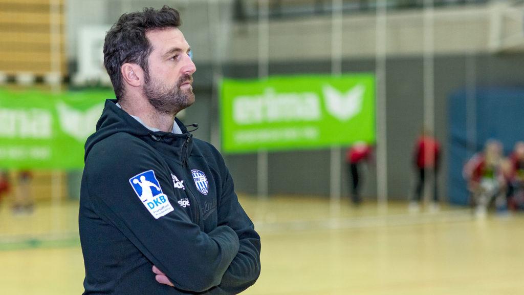 Pressefotografie, TBV Lemgo: Trainer Kehrmann | Foto: Dieter Eikenberg, imprints