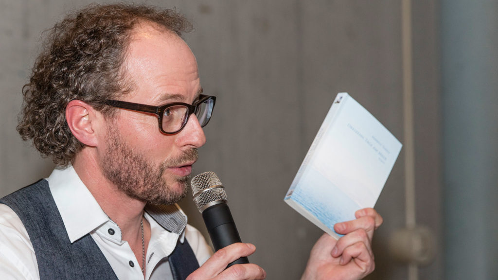 Pressefotografie: Autorenlesung Markus Thiele | Foto: Dieter Eikenberg, imprints