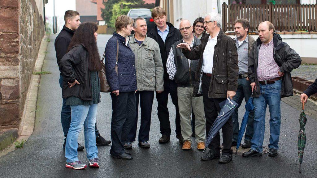 Pressefotografie, Ortsbegehung Volkerode | Foto: Dieter Eikenberg, imprints