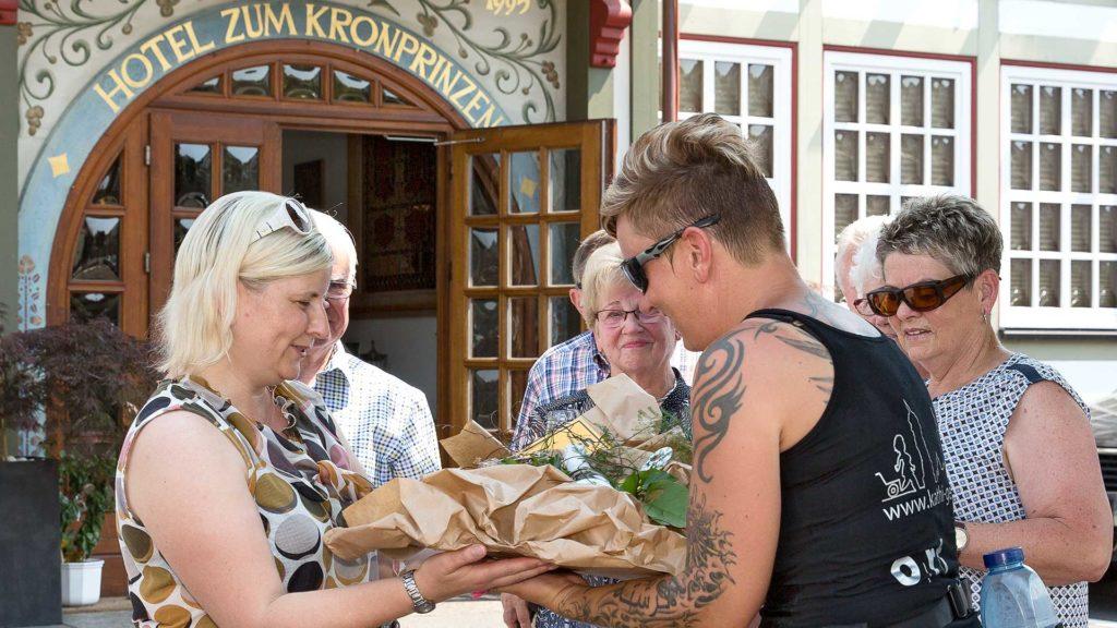 Pressefotografie, Ortsbürgermeisterin Beate Sommerfeld, Fuhrbach, parteilos | Foto: Dieter Eikenberg, imprints