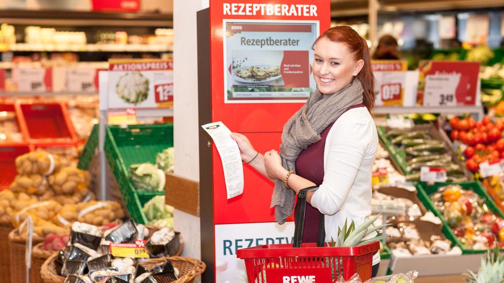 Pressefotografie: Einführung Rezeptberater, REWE | Foto: Dieter Eikenberg, imprints