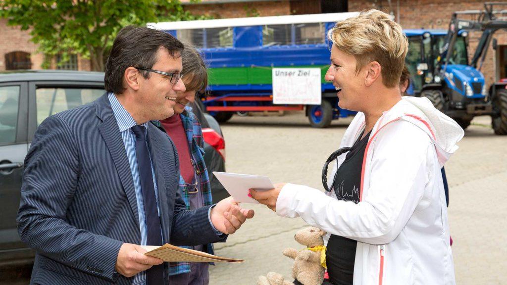 Pressefotografie, Bürgermeister Kaiser, Hardegsen | Foto: Dieter Eikenberg, imprints