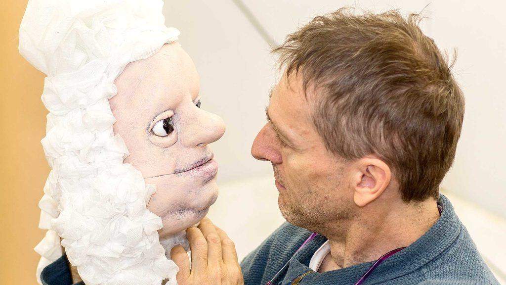 Pressefotografie, Theater: Puppengespräch | Foto: Dieter Eikenberg, imprints