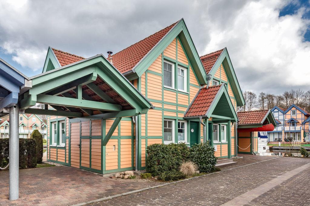 Architekturfotografie, Landschaftsfotografie: Ferienhaus in Brandenburg, Rheinsberg, Hafendorf | Foto: Dieter Eikenberg, imprints