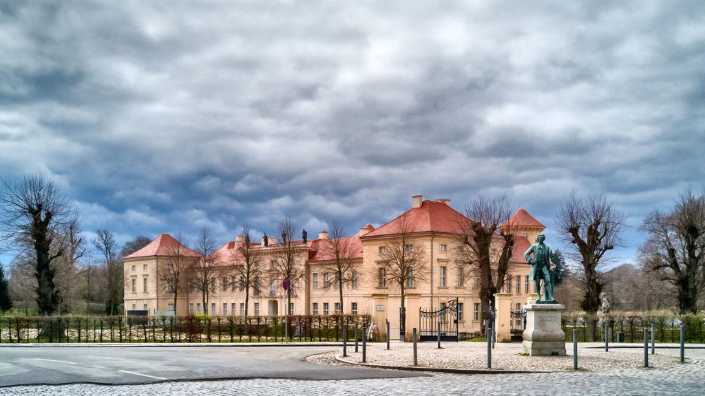Architekturfotografie, Landschaftsfotografie: Schloss Rheinsberg | Foto: Dieter Eikenberg, imprints