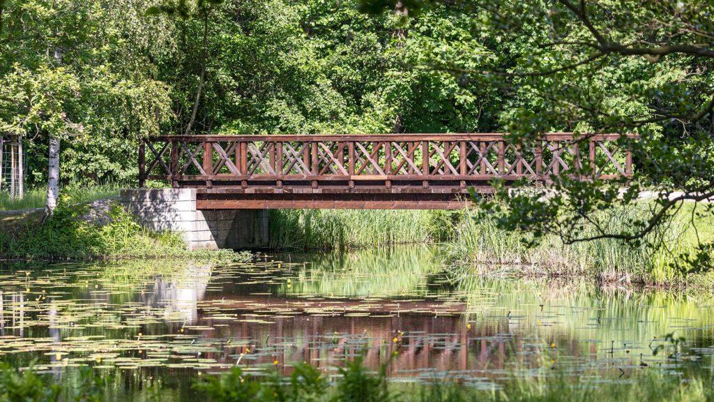 Landschaftsfotografie: Spreewald, Brücke | Foto: Dieter Eikenberg, imprints