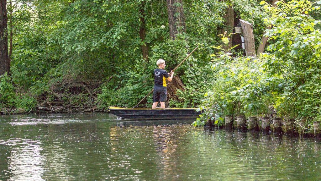 Landschaftsfotografie: Spreewald, Postzustellung per Boot | Foto: Dieter Eikenberg, imprints