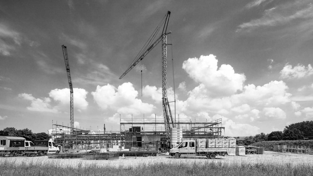Architekturfotografie, Baustelle | Fotograf Dieter Eikenberg