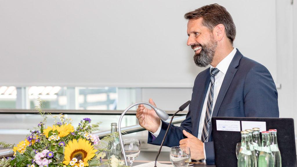 Pressefotografie: Umweltminister Olaf Lies | Foto: Dieter Eikenberg