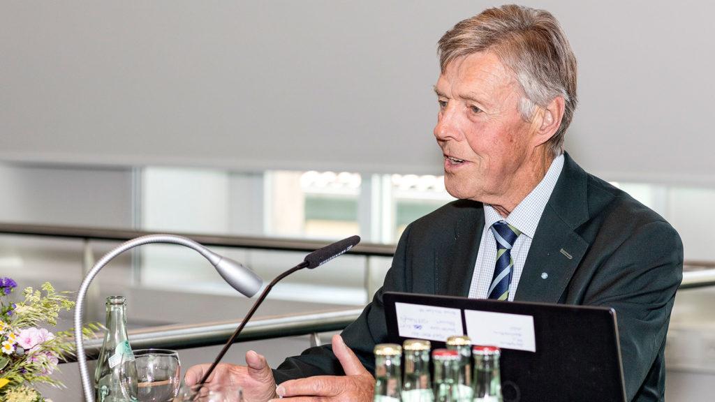 Pressefotografie: Josef Göppel MdB a.D. | Fotograf: Dieter Eikenberg