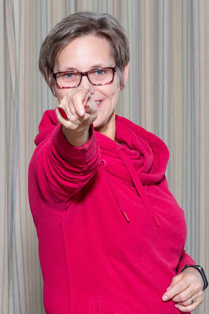 Dirigentin | Porträt | Foto: Eikenberg
