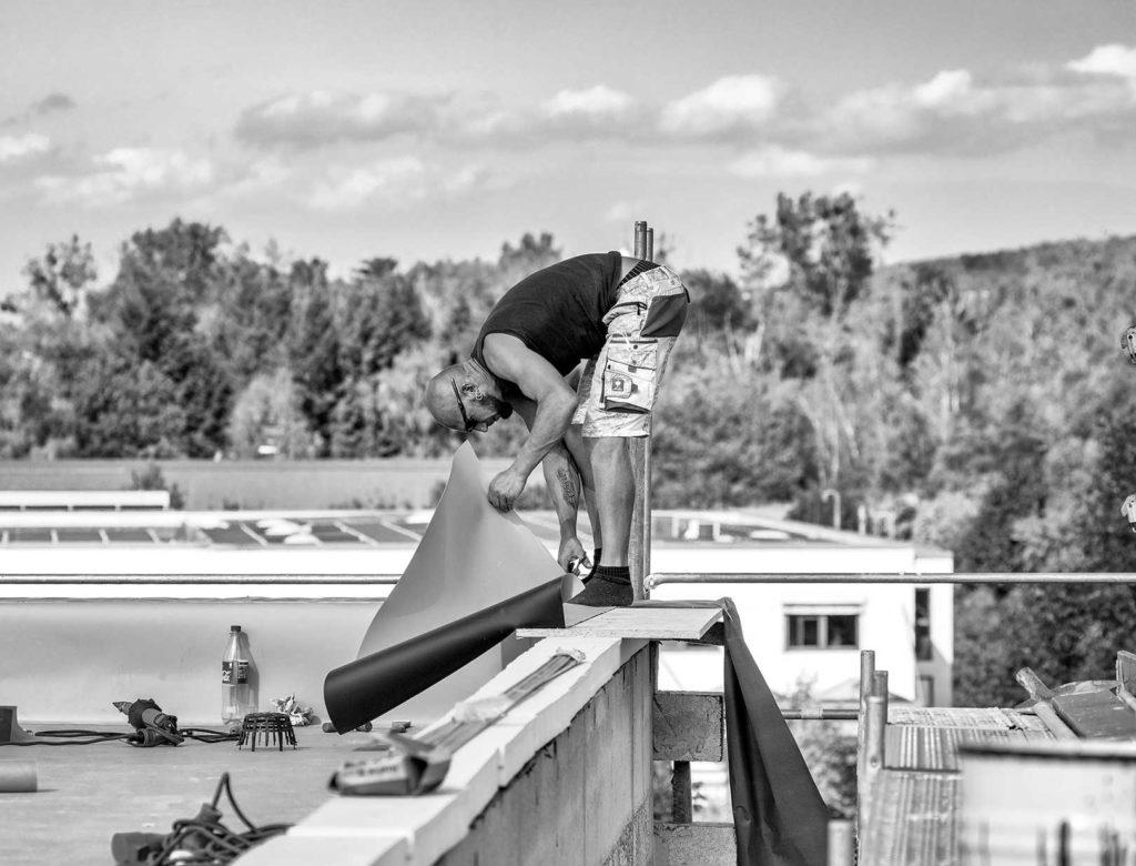 Bau eines Kanzleigebäudes | Foto: imprints