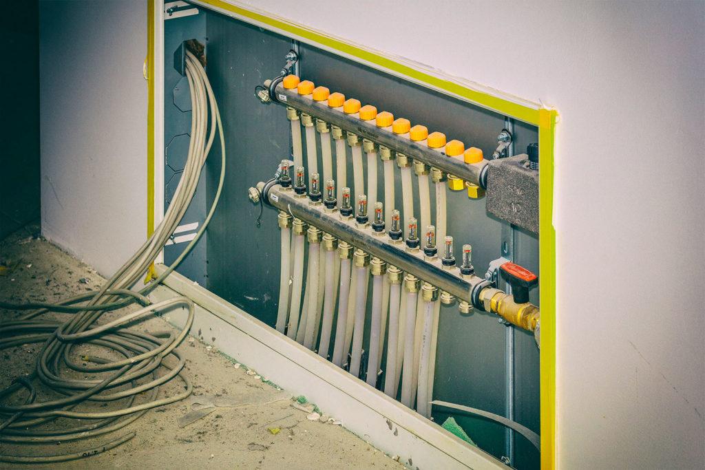 Bau: Versorgungsleitungen