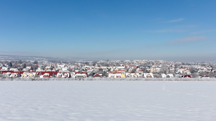 Rosdorf im Schnee