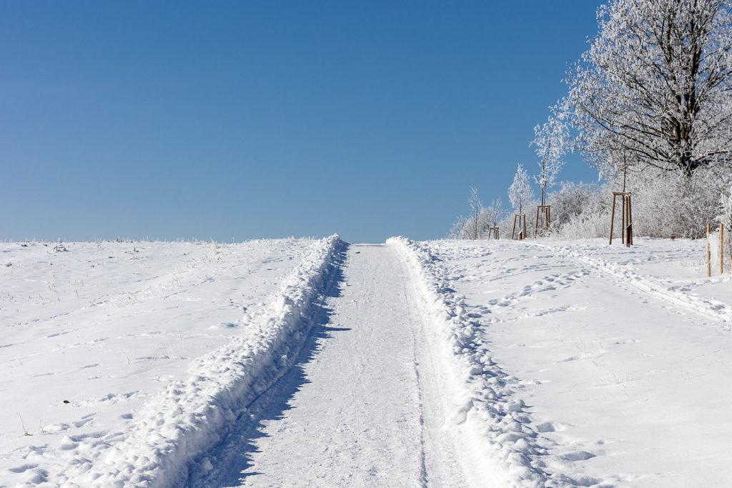 Rosdorf im Schnee - Wartberg